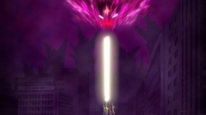 Sailor Moon Crystal Act 13 - The Sailor Team defeating Metalia