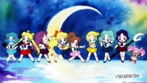 Animation Domination's Sailor Moon 2015 - The Sailor Guardians