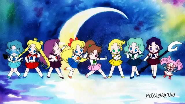 Animation Domination's Sailor Moon 2015 - The Sailor Guardians