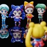 Ayakashi Sisters Petit Chara figures - Berthier, Koan, Calaveras and Petz