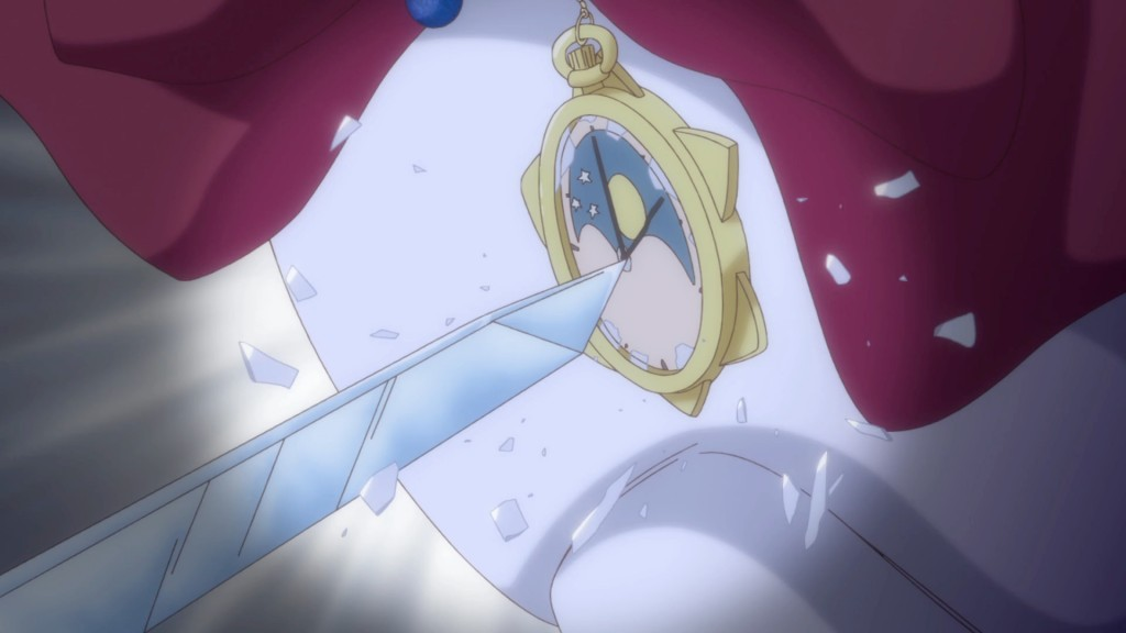 Sailor Moon Crystal Act 13 - Orgel protects Sailor Moon from suicide