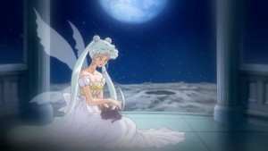 Sailor Moon Crystal Act 13 - Queen Serenity and Kitten Luna
