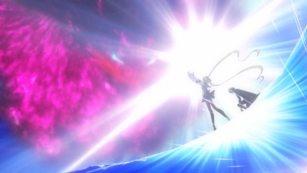 Sailor Moon Crystal Act 13 - Sailor Moon attacks Metalia