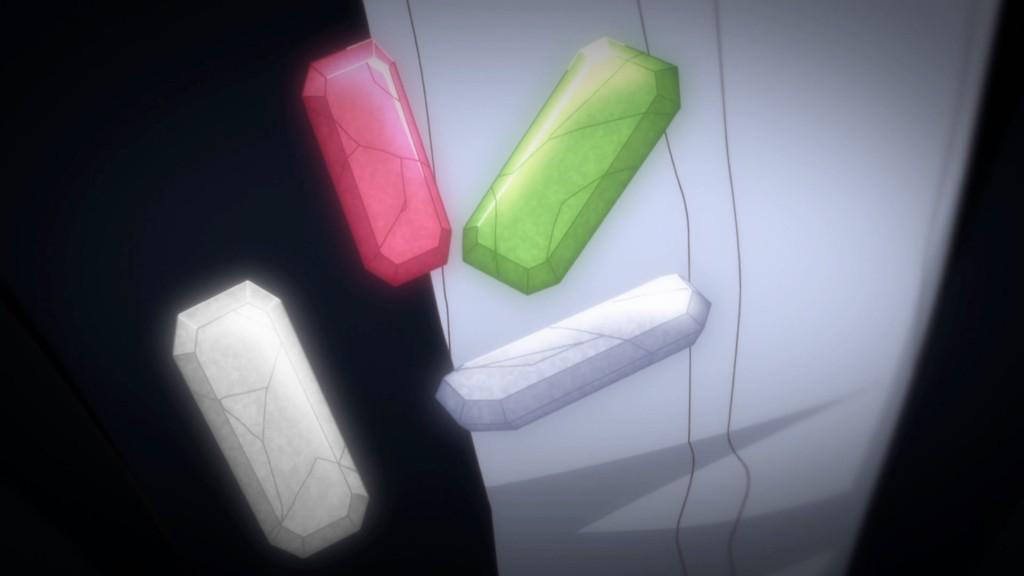 Sailor Moon Crystal Act 13 - The Shitennou's gems
