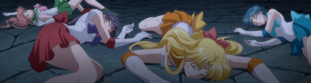 Sailor Moon Crystal Act 13 - The Sailor Guardians dead
