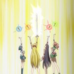 Sailor Moon Crystal Act 13 - The Sailor Guardians fighting Queen Metalia