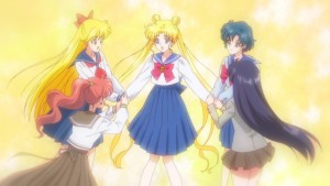 Sailor Moon Crystal Act 13 - Usagi and her friends