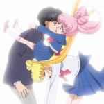 Sailor Moon Crystal Act 14 - Chibiusa breaking up a romantic moment