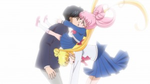 Sailor Moon Crystal Act 14 - Chibiusa breaking up a romantic moment