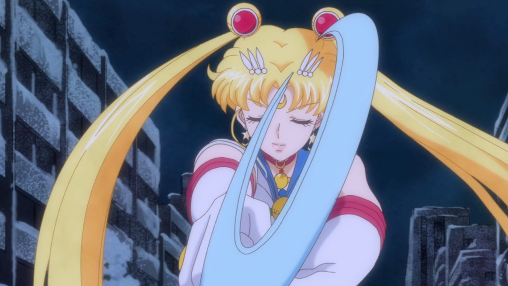 Sailor Moon Crystal Act 14 - Sailor Moon and the Moon Stick