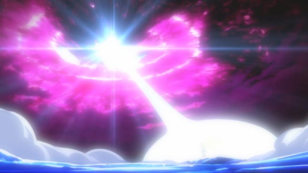 Sailor Moon Crystal Act 14 - Sailor Moon fighting Metalia