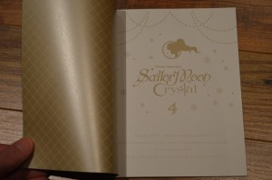Sailor Moon Crystal Blu-Ray vol. 4 - Booklet - Page 1