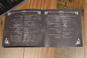 Sailor Moon Crystal Original Soundtracks - Insert pages 1 and 2