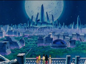 Sailor Moon R episode 75 - Crystal Tokyo is a dump