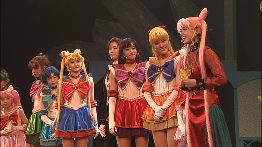 Pretty Guardian Sailor Moon Petite Étrangère DVD - Post show speaking to the audience