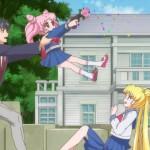 Sailor Moon Crystal Act 15 - Chibiusa shooting Usagi