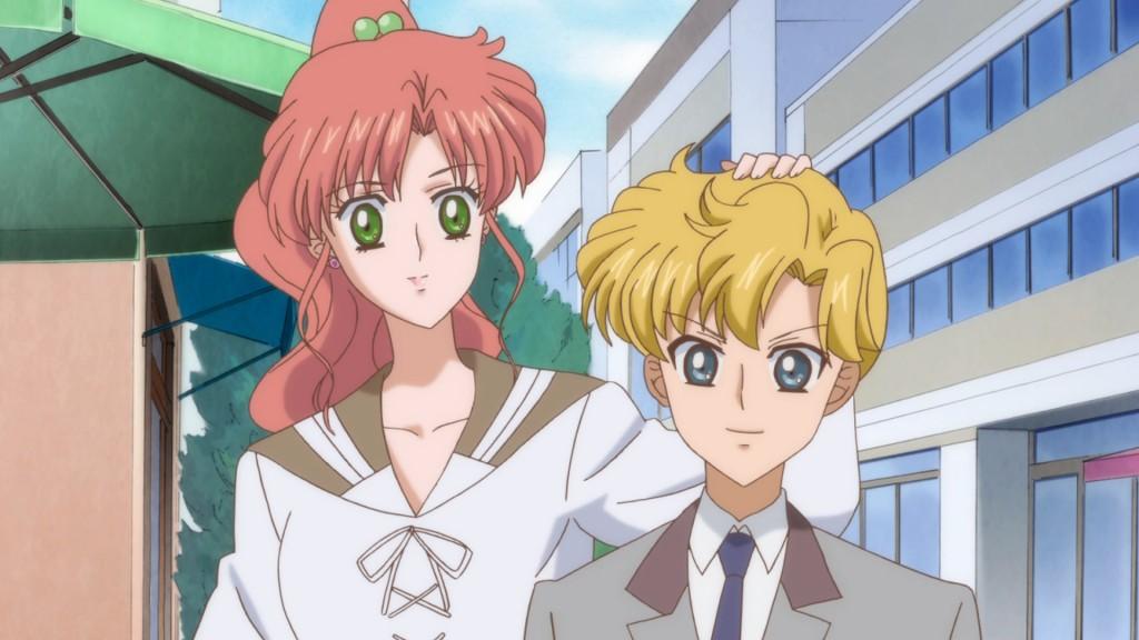 Sailor Moon Crystal Act 15 - Makoto and Asanuma
