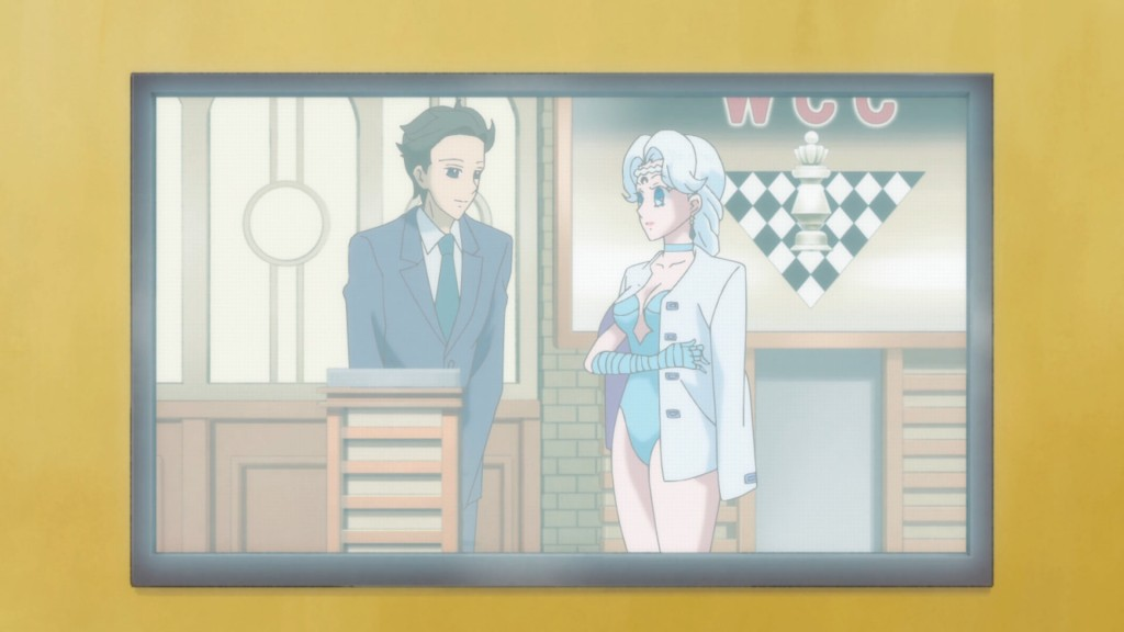 Sailor Moon Crystal Act 16 - Berthier is not dressed for chess