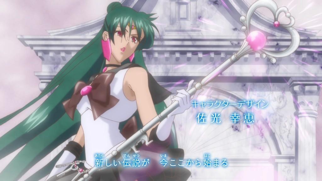 Sailor Moon Crystal Intro - Sailor Pluto