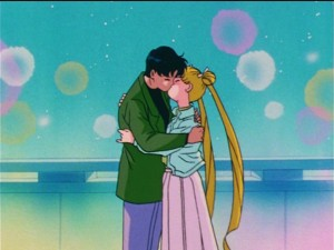 Sailor Moon R episode 77 - Mamoru and Usagi make up