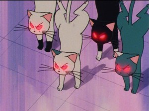 Sailor Moon R episode 79 - Evil cats