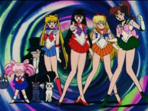 Sailor Moon R episode 80 - Ami getting bullied by her friends