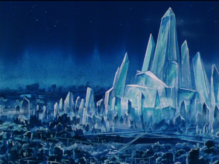 Sailor Moon R episode 82 - Crystal Tokyo destroyed