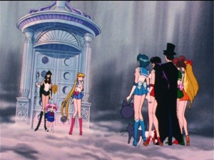 Sailor Moon R episode 82 - The Space-Time Door