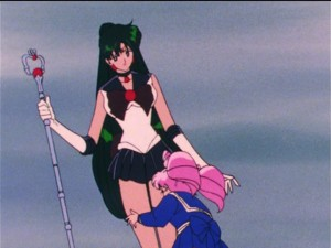 Sailor Moon R episode 82 - Sailor Pluto and Chibiusa