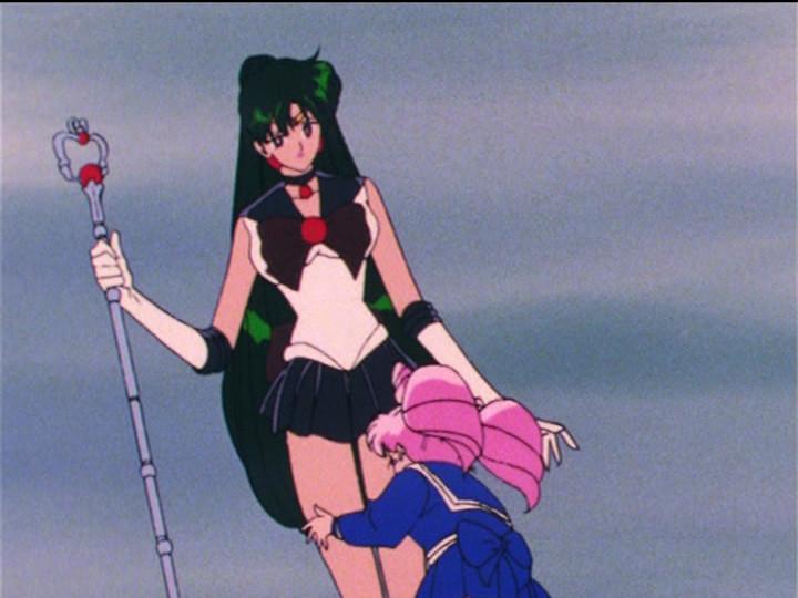 Sailor Moon R episode 82 - Sailor Pluto and Chibiusa