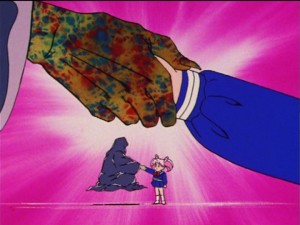 Sailor Moon R episode 84 - Wiseman and Chibiusa
