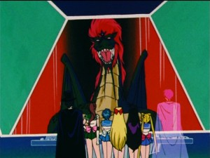 Sailor Moon R episode 84 - Esmeraude the dragon