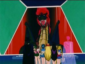Sailor Moon R episode 84 - Esmeraude the dragon