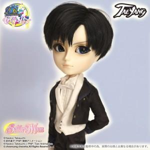 Tuxedo Mask Taeyang Doll without a mask