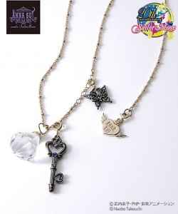 Anna Sui meets Sailor Moon - Silver Crystal and Key of Space-Time