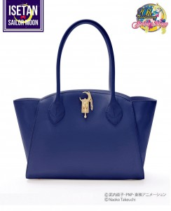 Moonstick Leather Bag - Dark Blue