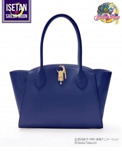 Moonstick Leather Bag - Dark Blue