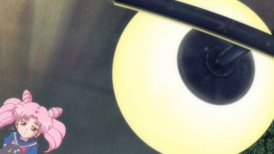 Sailor Moon Crystal Act 17 - Chibiusa with a blue top
