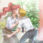 Sailor Moon Crystal Act 17 - Makoto kissing Asanuma