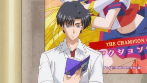 Sailor Moon Crystal Act 17 - Mamoru reads in front of an invalid URL