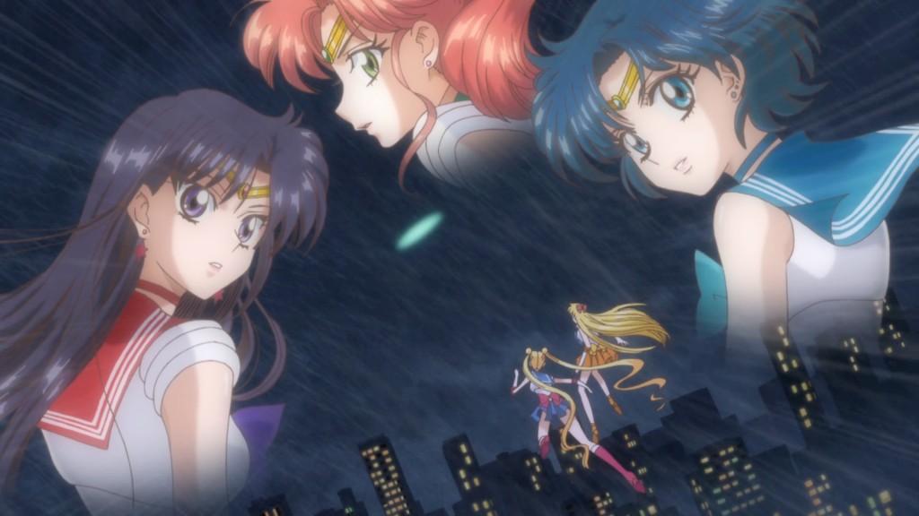 Sailor Moon Crystal Act 17 - Sailor Mars, Jupiter and Mercury have been kidnapped