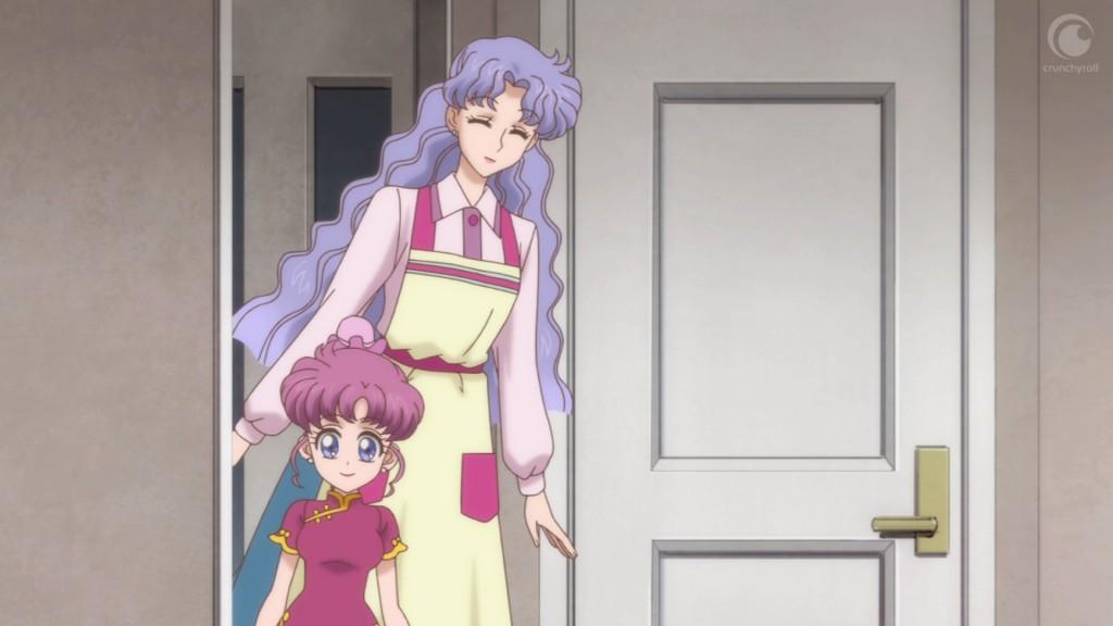 Sailor Moon Crystal Act 18 - Momoko and Ikuko Tsukino