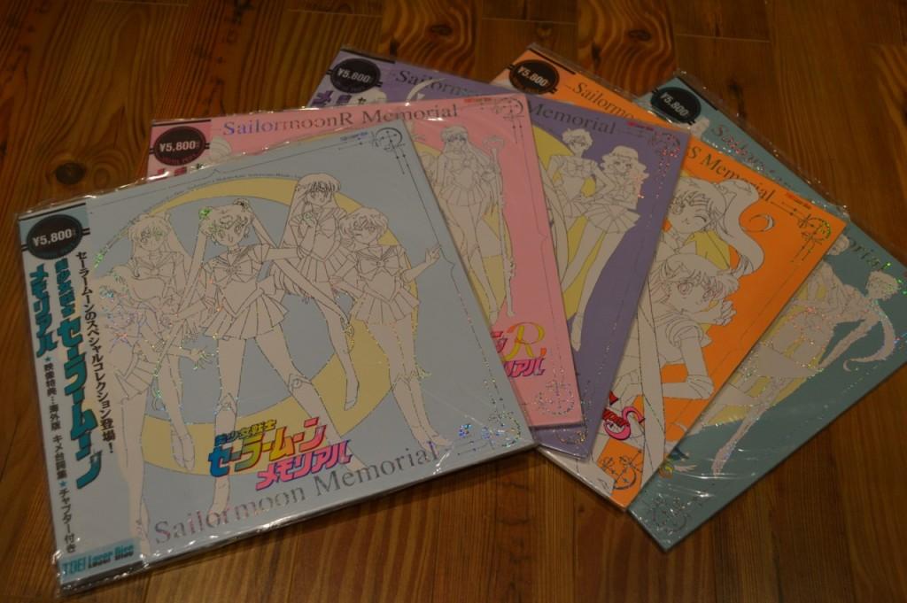 Sailor Moon Memorial Laser Disks