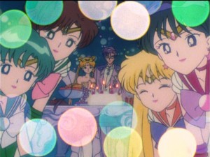 Sailor Moon R episode 85 - Chibiusa's Birthday Party