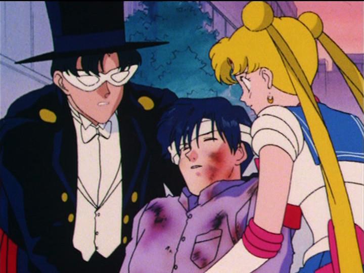 Sailor Moon R episode 86 - Saphir dies