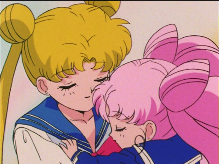 Sailor Moon R episode 88 - Usagi and Chibiusa