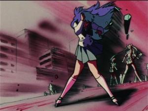 Sailor Moon S episode 90 - Rei predicts disaster
