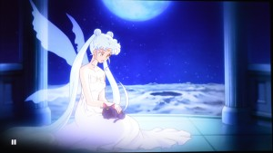 Sailor Moon Crystal Act 13 Blu-Ray - Queen Serenity with a new dress