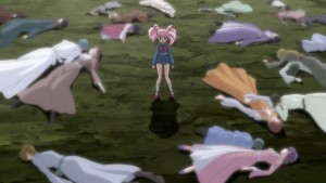 Sailor Moon Crystal Act 19 - So many dead people in fancy clothes that look nothing like Chibiusa's