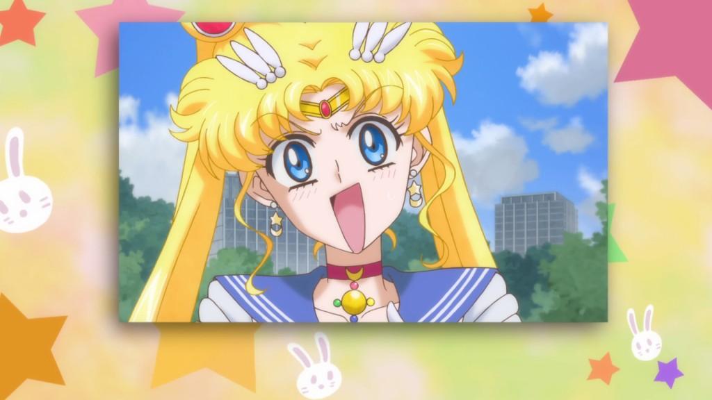 Sailor Moon Crystal Act 19 - Usagi surprised - DiC border